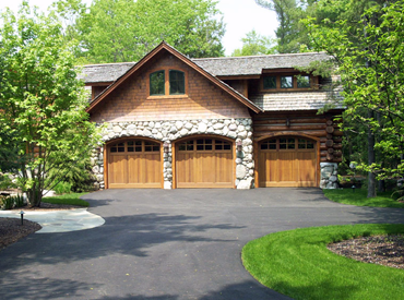 Driveway paving in New Hampshire